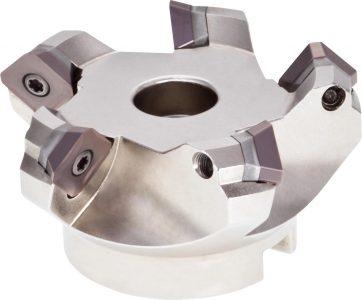PreMill® Vlakfrees, met opsteekdoorn, met onderlegplaat, type: MR45Q
