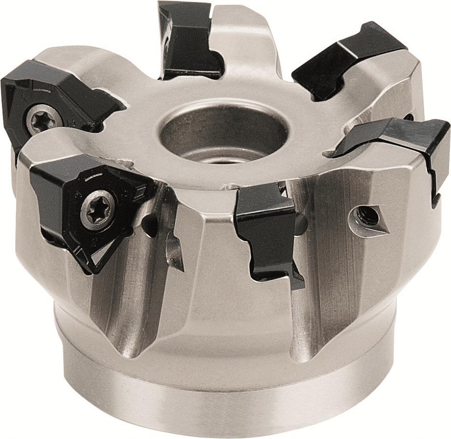 PreMill® Hoekfrees, met opsteekdoorn, met binnenkoeling (BK), type: MR290Q