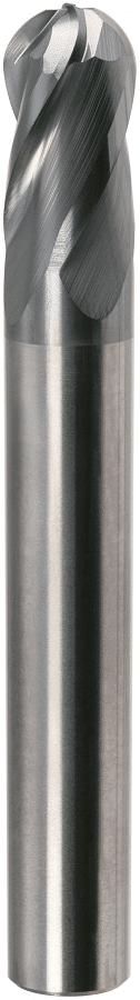 PreMill® VHM-HPC-radiusfrees, 4-snijder, voor Titanium, MnT1-gecoat