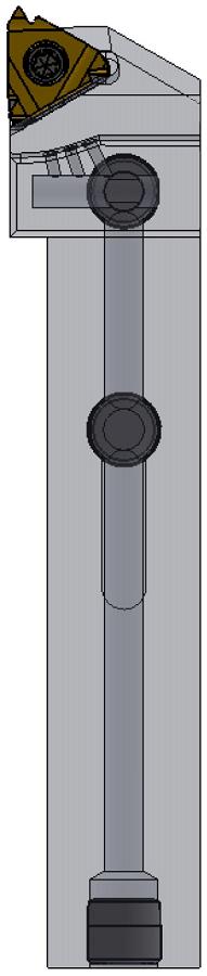 PreThread® buitendraadsnijbeitel met binnenkoeling