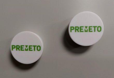 PreParts® magneten, Ø35 mm, set van 2